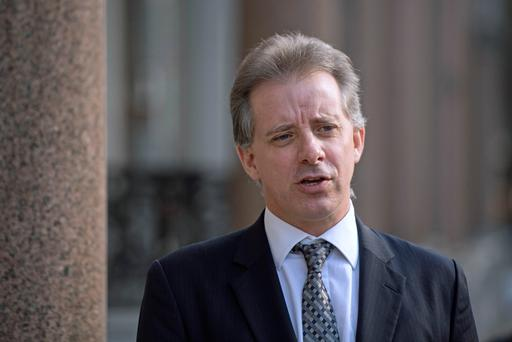 Christopher Steele, the former MI6 agent who set-up Orbis Business Intelligence and compiled a dossier on Donald Trump, in London where he has spoken to the media for the first time (Image: Victoria Jones/PA Wire)