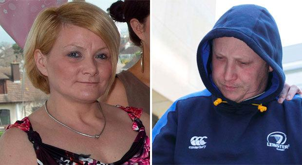 Anne Shortall (left) and murder accused Roy Webster (right)