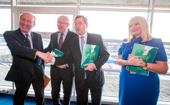 Enda Kenny outlines plan for referendum on extending presidential voting rights