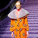 Lorna Foran wears a creation for Miu Miu's Fall-Winter 2017/2018 ready-to-wear fashion collection presented Tuesday, March 7, 2017 in Paris. (AP Photo/Francois Mori)