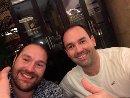Tyson Fury and Daniel Kinahan