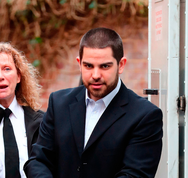 Michael Lane arrives by van at Lewes Crown Court, where he is accused of the murder of Shana Grice, whose body was discovered at her house in Chrisdory Road, Brighton. Gareth Fuller/PA Wire