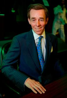 Controversial: the Ryan Tubridy waxwork was said to look more like Henry Kelly