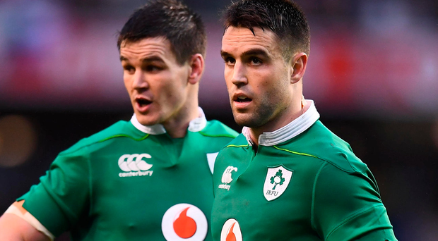Johnny Sexton and Conor Murray hold the key for Ireland. Photo: Stephen McCarthy/Sportsfile
