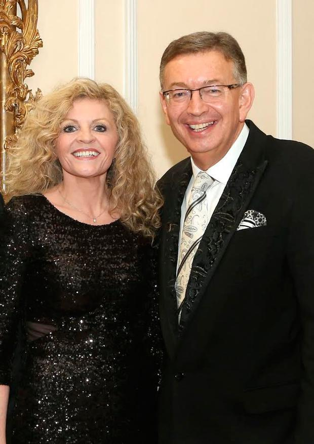 Natanya Cafolla and Gerald Kean at the Annual Charity Gala Ball in the Heritage Hotel , Killenard. Picture: Michael Scully