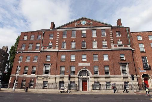 The current National Maternity Hospital is on Holles Street. Photo Damien Eagers / Irish Independent