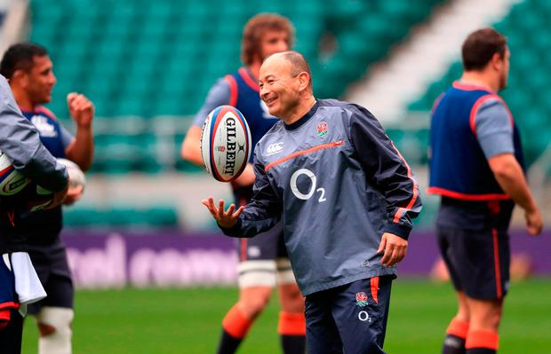 England coach Eddie Jones. Photo credit: Adam Davy/PA Wire