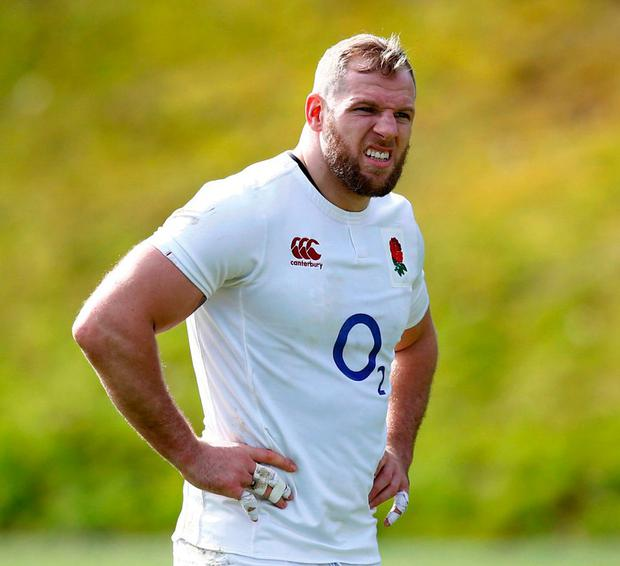 England back-row James Haskell