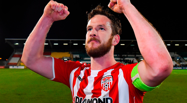 Ryan McBride of Derry City passed away at the age of 27. RIP