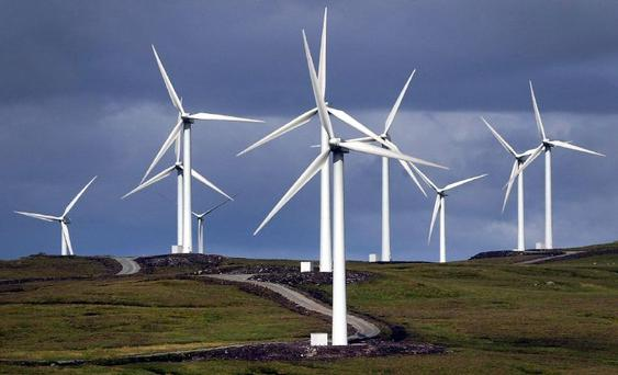 The wind farms were part of the Bord Gáis Energy portfolio sold by the State two years ago to meet targets set by the Troika