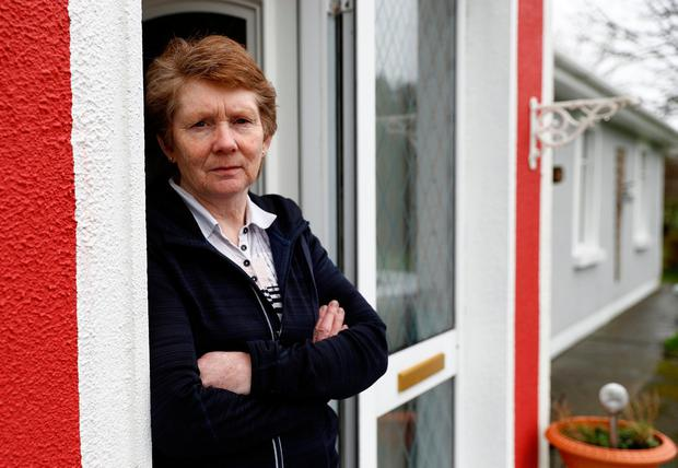 Catherine Corless at her home in Tuam Picture: REUTERS/Peter Nicholls