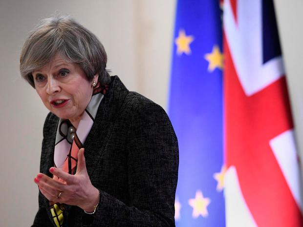 Theresa May is expected to start the clock on Brexit this Wednesday