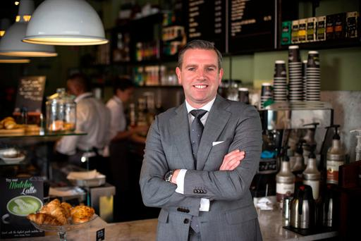 Brand director Mark Saunders says the company's new Grafton Street Café will open this year