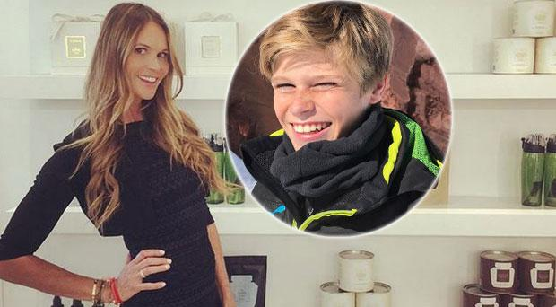 Elle Macpherson on how she stopped her 14-year-old son Cy eating rubbish