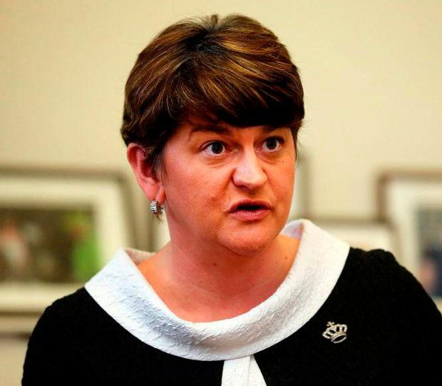 Arlene Foster. Photo: Niall Carson/PA Wire