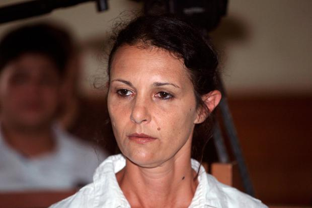 Australian national Sara Connor sits in a court room during her verdict trial in Bali, Indonesia (AP Photo/Firdia Lisnawati)