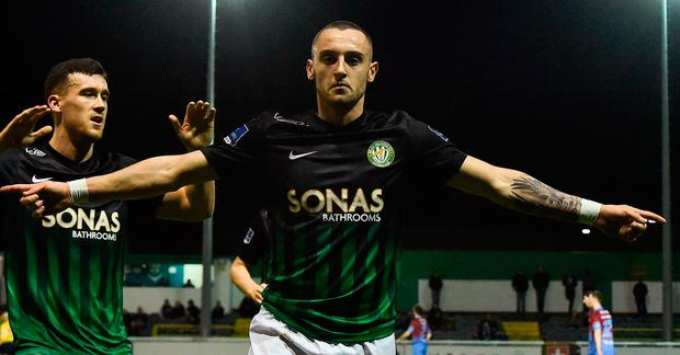 Dylan Connolly on his way to Dundalk