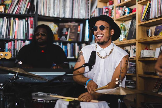 Anderson .Paak & The Free Nationals. Pic: NPR / YouTube