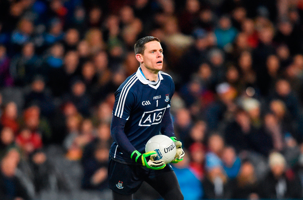 Stephen Cluxton of Dublin. Photo by David Fitzgerald/Sportsfile