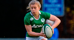 Ireland's Claire Molloy plays her club rugby in England with Bristol. Photo: Eóin Noonan/Sportsfile