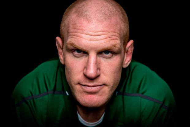 Paul O'Connell will be more than happy to watch this Saturday's Ireland v England game from the stands. 'Rather than wishing I was still out there,' he says. 'When I watch the collisions I shudder to think what would happen to my body if I were out there'. Photo: Getty