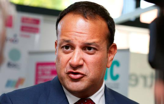 Social Protection Minister Leo Varadkar Photo: Tom Burke