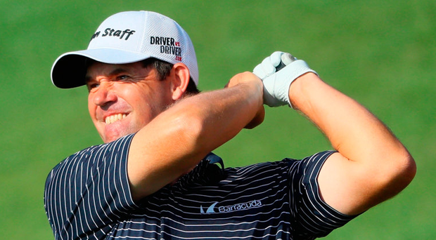 Padraig Harrington will undergo surgery for a trapped nerve in his neck today. Photo: Getty Images