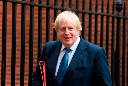 UK Foreign Secretary Boris Johnson. Photo: Lauren Hurley/PA Wire