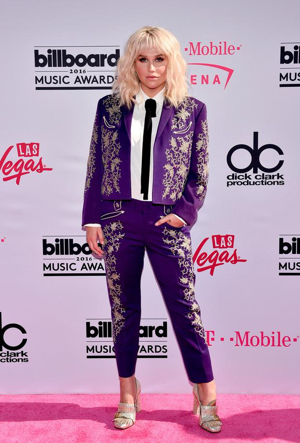 Recording artist Kesha attends the 2016 Billboard Music Awards at T-Mobile Arena on May 22, 2016 in Las Vegas, Nevada. (Photo by David Becker/Getty Images)