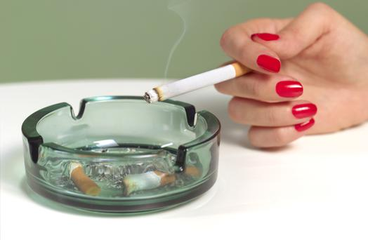 More than 5000 people in Ireland die of a smoking-related illness each year
