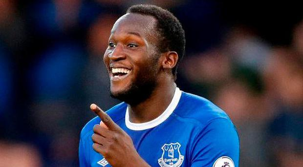 Everton's Romelu Lukaku. Photo: Martin Rickett/PA Wire