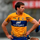 "Clare football captain Gary Brennan, who has excelled during Ballyea's remarkable run and scored the all-important goal against Thurles Sarsfields, is one of many players to sing the praises of Liddy for ""first putting a hurl in my hand"". Photo: Stephen McCarthy / Sportsfile"