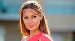 Model Roz Purcell. Photo: Seb Daly/Sportsfile