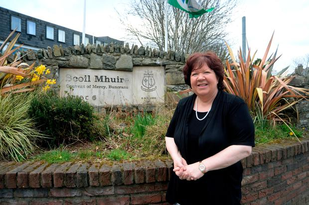 School principal Rosaleen Grant of Scoil Mhuire, Buncrana, Co Donegal. Photo: Caroline Quinn