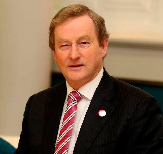 Enda Kenny proposes allowing the diaspora to vote in the presidential election. Photo: Tom Burke