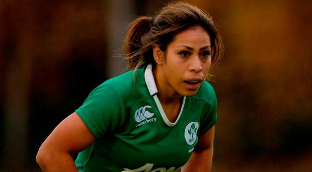 Naoupu is as driven off the pitch as she is on it and Ireland have benefited hugely from having her in their midfield for the last couple of seasons. Photo: Eóin Noonan/Sportsfile