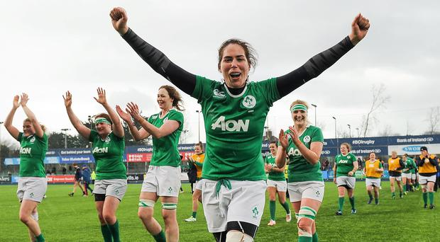 'Nora Stapleton has really held us together. She's now playing with her third different No 9 and we need other backs to improve their decision-making and creativity to provide her with more options.' Photo: Sam Barnes/Sportsfile