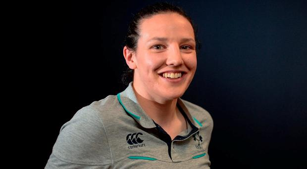 Ireland captain Paula Fitzpatrick. Photo: Sam Barnes/Sportsfile