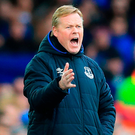 Everton manager Ronald Koeman. Photo:: Peter Byrne/PA Wire