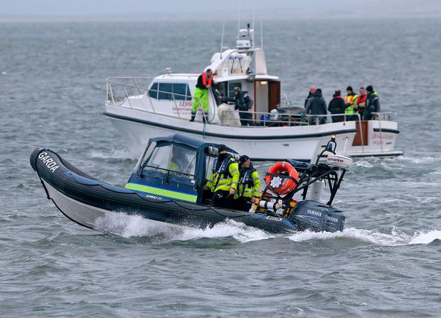 Search vessels look for wreckage from Rescue 116