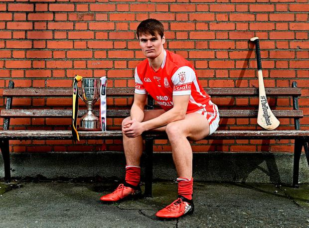Cuala Cian O'Callaghan of is pictured ahead of today's AIB All-Ireland Club SHC Final against Ballyea of Clare in Croke Park. Photo by Ramsey Cardy/Sportsfile
