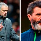 Jose Mourinho and Roy Keane