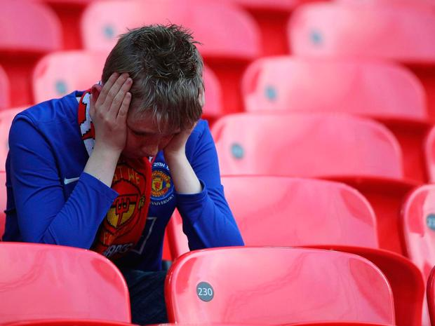 The vast majority of United's season ticket holders will miss out on the game Getty