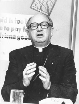 'In the last few days I have met so many people who lived in England in the 1950s and 1960s. They spoke of how Bishop Casey built homes for the Irish in England. He built 600 houses in just two years.'