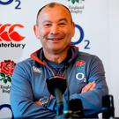 England Head Coach Eddie Jones. Photo: PA