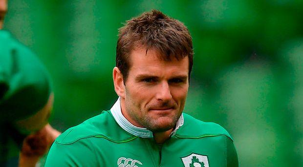 Jared Payne has a key role to play for Joe Schmidt today. Photo: Sportsfile