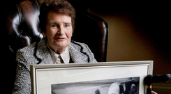 The late Maureen Haughey, who was a strong influence on her late husband, controversial Taoiseach Charles Haughey
