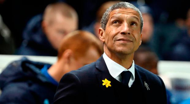 Chris Hughton has his sights firmly set on leading Brighton into the Premier League.