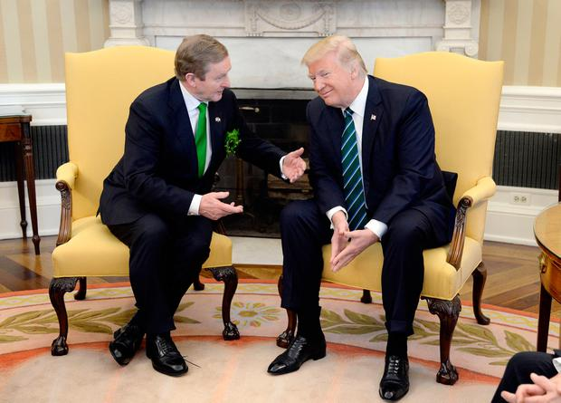Taoiseach has defended decision to invite Trump to Ireland. Photo: Getty