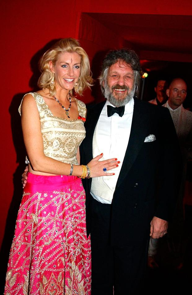 Lisa with her former husband, Baron Steven Bentinck